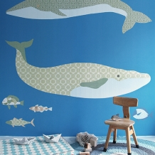 Muurprints van Inke: Dieren - Inke Wallprint Murals: Animals