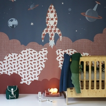 Muurprints van Inke: Dingen - Inke Wallprint Murals: Objects and Things