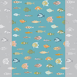 Fish multicolor